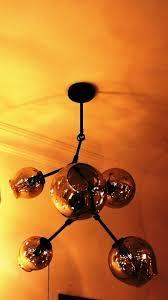 replica lindsey adelman 5 branching bubble chandelier dark