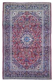 blue oriental carpet rug runner navy and red feed