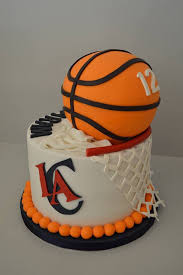Basketball Birthday Cake La Clippers 12th Birthday Cake For My Son