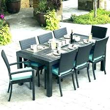 large round outdoor table wonderful round patio dining sets