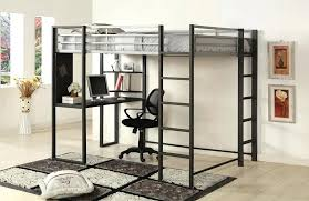 full size bunk bed with desk. Contemporary Desk Metal Bunk Bed With Desk Image Of Popular Full Size Loft B On Furniture  Modern Intended With S