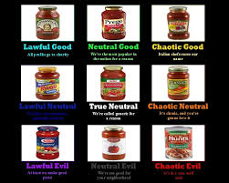 Pasta Sauce Alignment Charts Know Your Meme