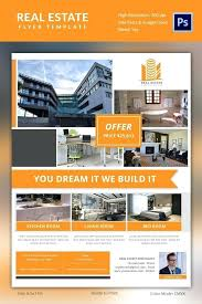 Microsoft Real Estate Flyer Templates Real Estate Flyer Templates Template Publisher Free