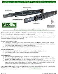 Cabinet Installation Company Gliderite Hardware 2075 Zc 20 Inch 100 Lb Hydraulic Soft Self