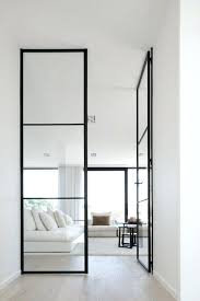 how to paint sliding glass door frame floor to ceiling black framed glass doors look perfect how to paint sliding glass door