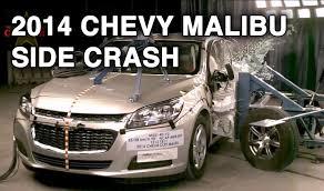 2014 Chevy Malibu   Side Crash Test   CrashNet1 - YouTube