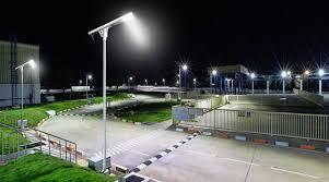 solar street light installation ing