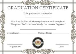 degree certificate templates masters degree certificate templates masters degree certificate