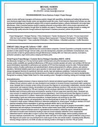 Resume For Analyst Job Create Your Astonishing Business Analyst Resume And Gain The Position 99