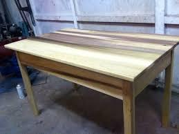 is poplar good for furniture. rainbow poplar table desk is good for furniture i