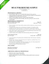 Commercial Appraiser Sample Resume Gorgeous Real Estate Resume Examples Free Plus Commercial Real Estate