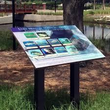 Dendron Graphic Panels For Interpretive Signage Displays
