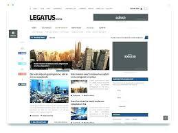 Website Template Newspaper Newspaper Template Website News Magazine Hewo Modern Html Old