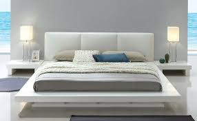 low profile bed. Simple Low Shiro Modern Low Profile Platform Bed White  On S