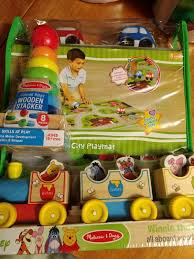 melissa and doug wooden toys train and city playmat