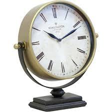 cool desk clocks gold metal desk clock silver desk clock australia