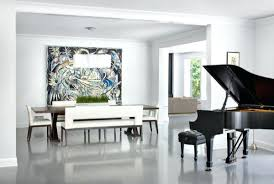 large wall art view in gallery modern living room with large art addition diy large fabric