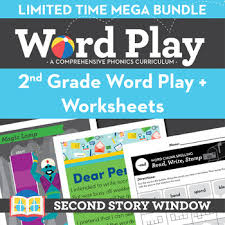 Phonics printable worksheets and activities (word families). 2nd Grade Phonics And Chunk Spelling Worksheets Bundle Second Story Window