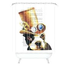 steampunk shower curtain us about this steampunk shower curtain hooks