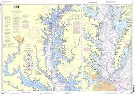 Noaa Chart 12280 Chesapeake Bay