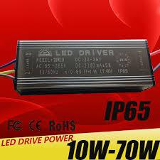 LED Driver <b>10W</b> 20W 30W 50W 70W <b>Adapter</b> Transformer AC85V ...