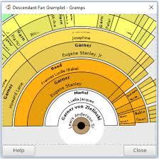 Descendant Fan Chart Gramps 5 0 Wiki Manual Gramplets Gramps