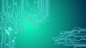 Animated Printed Circuit Board Background Stock Footage Video 100