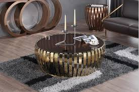 However, one of the main drawbacks of choosing such a table is the fact that glass. China Living Room Furniture Rose Gold Coffee Table With Glass Top China Console Table Stainless Steel Leg