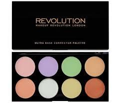 makeup revolution ultra base corrector palette 6