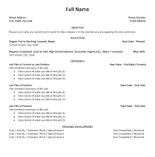 Free High School Resume Builder Resume High School Resume Builder 21
