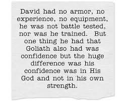 David and goliath teen lesson