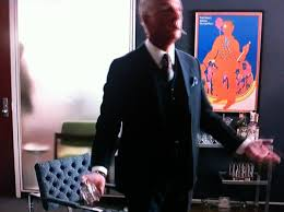 roger sterling office. Mad Men\u0027s Nod To Push Pin Studios | Eye On Design. \u003e Roger Sterling Office