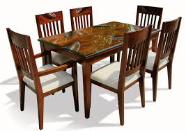 dining table set   bologna brown marble top round dining