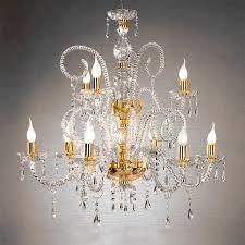 crystal chandelier maria teresa t4 ciciriello 9 lights e14 Ø 84 cm