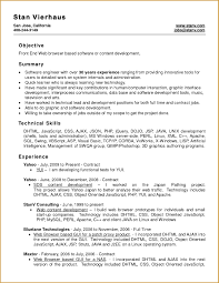 Resume Template Writing A Best Format Sample With How To In Word