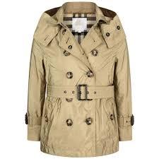 burberry girls beige grangemoore waterproof trench coat