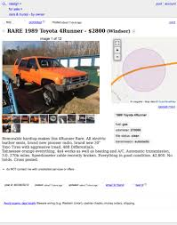 For $2,700, Orange You Glad You Could Buy This 1989 Toyota 4Runner?