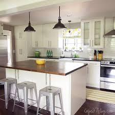 remodelaholic kitchen island. single wall kitchen with island via remodelaholic.com remodelaholic