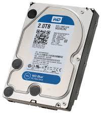 <b>Жесткий диск Western Digital WD</b> Blue Desktop 2 TB (WD20EZRZ ...