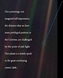 Pale Blue Dot Quote New Pale Blue Dot A Vision Of The Human Future In Space Unspoken