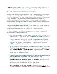 Bid Proposal Cover Letter Awesome Cover Letter Bid Proposal Sample