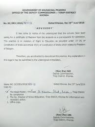 Shocking Christian School In Arunachal Pradesh Demands