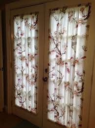 french door curtains made from a 19 00 tar shower curtain that design of shower curtain