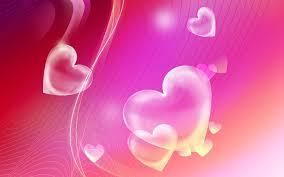 pink hearts wallpaper widescreen jsq
