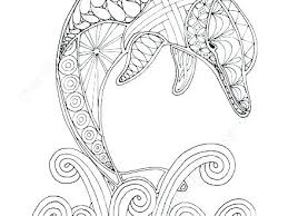 Nautical Coloring Pages Cute Dolphin Coloring Pages Dolphin Coloring