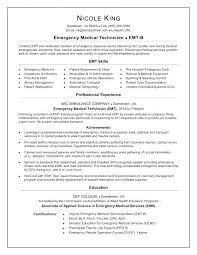 emt resume emt resume cover letter best of resume sample resume cover letter