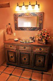 Peaceful Ideas Mexican Bathroom Designs  Enchanting Sofa - Mediterranean style bathrooms
