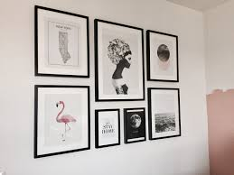 office wall frames. Gallery Wall With Ikea RIBBA Frames. Office Frames W