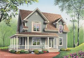 southern house plan front image 032d 0552 house planore