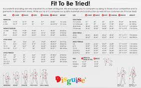 Disguise Size Chart Disneys Doc Mcstufffins Kids Costume Toddler Large 4 6